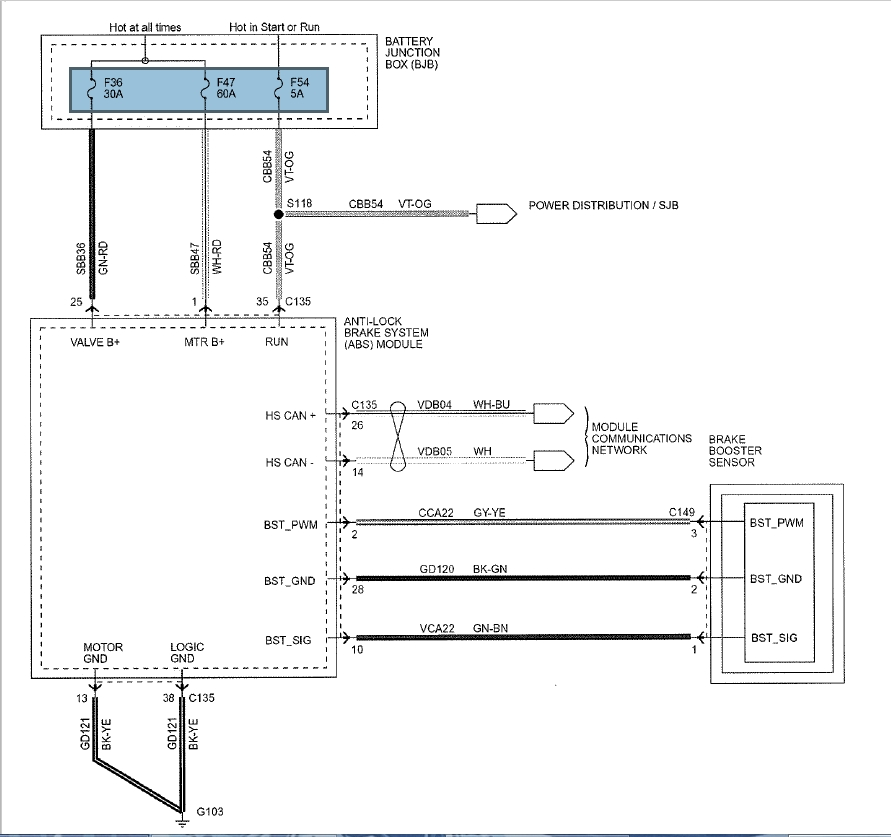 F150 Abs Diagram - Data Wiring Diagrams